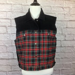 Pendleton Originals Vest Women Medium Corduroy